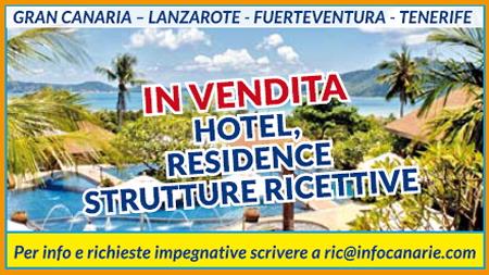 Canarie hotel in vendita alberghi strutture turistiche e - Agenzie immobiliari tenerife ...