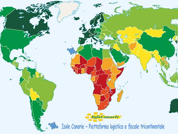 Spagna E Canarie Cartina.Isole Canarie E Mercati Emergenti Info Strategiche Economia Logistica Infrastrutture