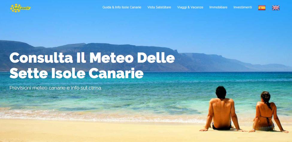 Clima e Meteo alle Canarie fattori climatici e previsioni ...