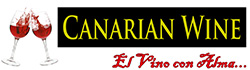 Canarian Wine Logo black background