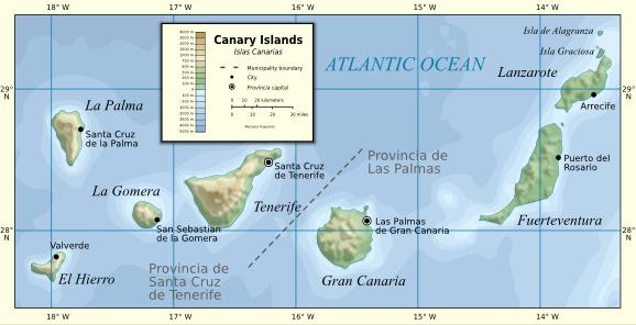 Cartina Delle Canarie.Isole Canarie Info Utili Destinazioni Dove Andare Cosa
