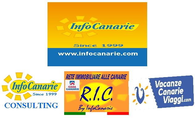 marca infocanarie brand di info canarie consulting immobiliare viaggi e vacanze